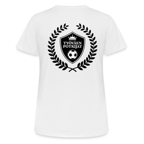 Työväen potkijat - naisten tekninen t-paita