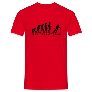 Evolution Ski - Männer T-Shirt