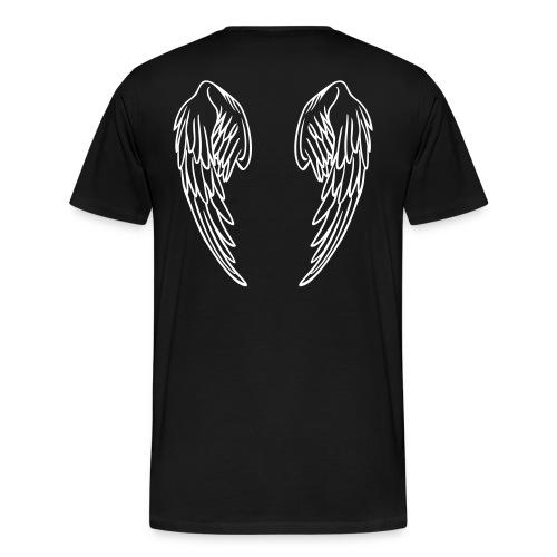 T-Skjorte med englevinger - Premium T-skjorte for menn