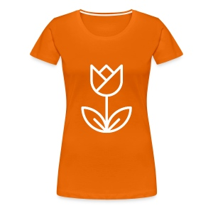 Orange Women's Tee - Women's Premium T-Shirt