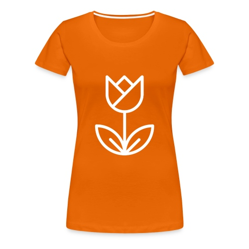 Orange Women's Tee - Women's Premium T-Shirt