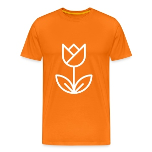 Orange Men's Tee - Men's Premium T-Shirt