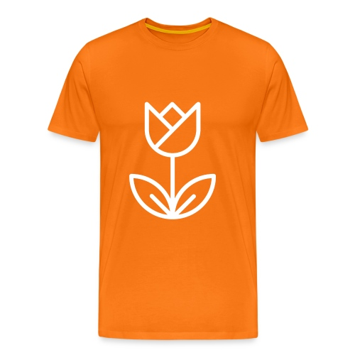 Orange Men's Tee - Men's Premium T-Shirt