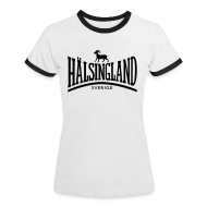 T-shirts ~ Kontrast-T-shirt dam ~ HÄLSINGLAND
