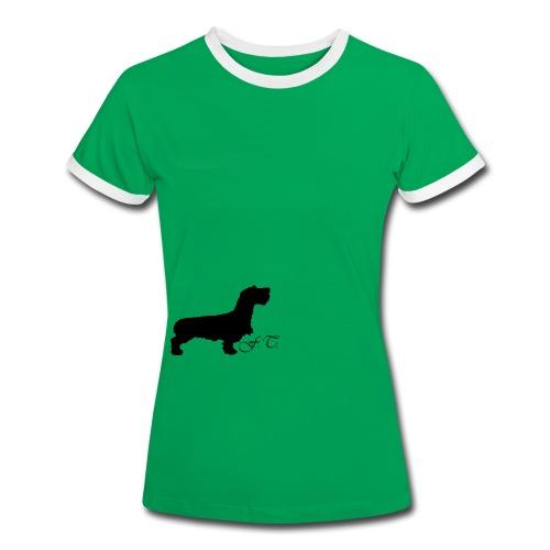 Maglietta Contrast da donna