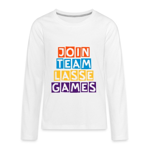 Lasse Games Long T-Shirt Premium - Teenagers' Premium Longsleeve Shirt