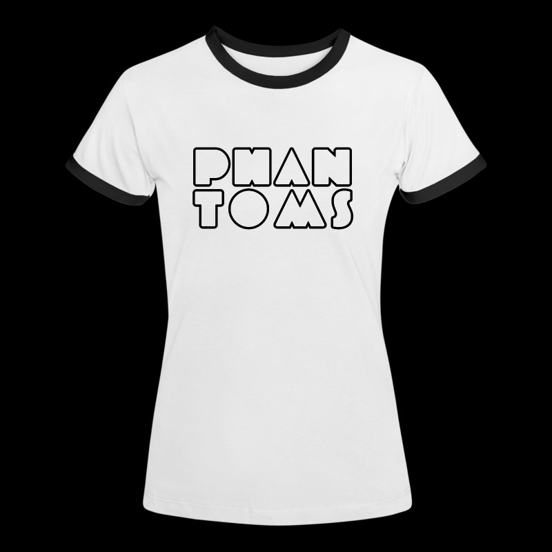 Phantoms New Logo Ladies Tee - Women's Ringer T-Shirt