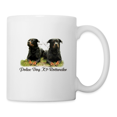 Police Dog K9 Rottweiler - Tasse