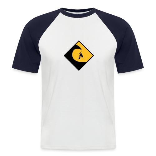 Danger High Surf - Männer Baseball-T-Shirt