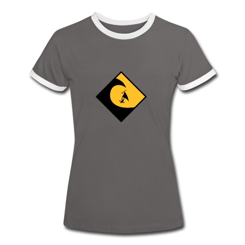Danger High Surf - Frauen Kontrast-T-Shirt
