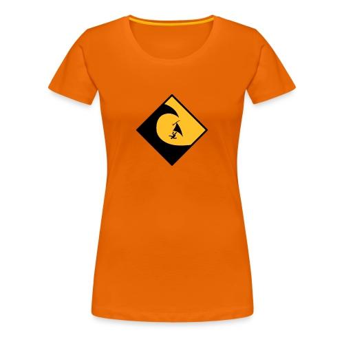 Danger High Surf - Frauen Premium T-Shirt