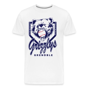 T-SHIRT DOP GRIZZLYS - T-shirt Premium Homme