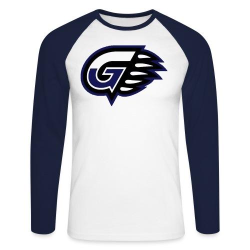 T-SHIRT BASEBALL G'S - T-shirt baseball manches longues Homme