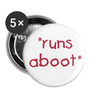 Runs aboot badj - Buttons small 25 mm