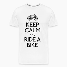 keep calm bike T-Shirts