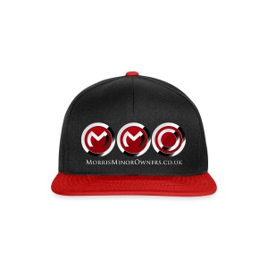 Cap black/red - Snapback Cap