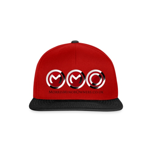 Cap red/black - Snapback Cap