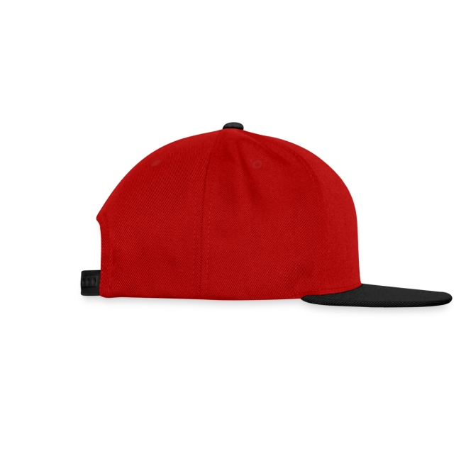 Cap red/black