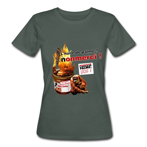 HDP NON ! TeeBioFemme - T-shirt bio Femme