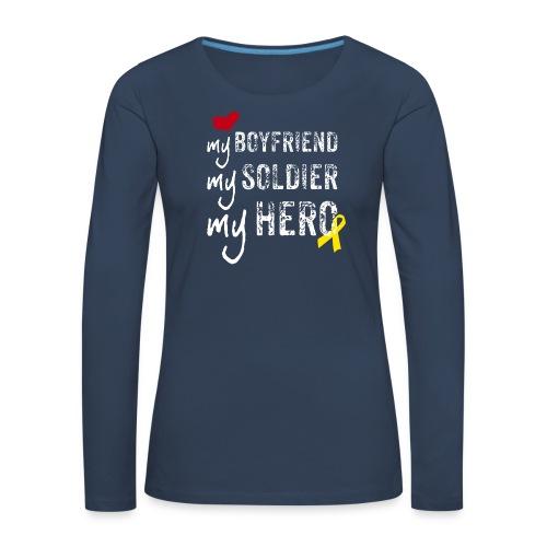 My hero - Frauen Premium Langarmshirt