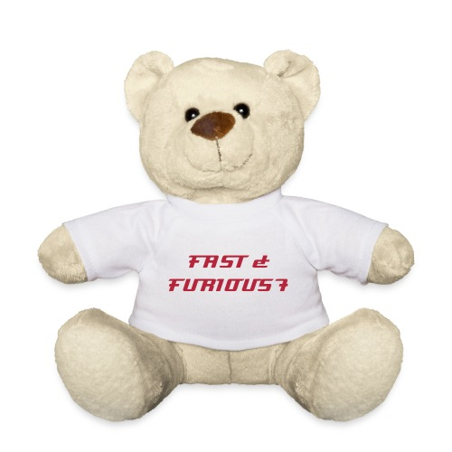 nounours et son T-shirt FAST & FURIOUS 7 - Teddy Bear
