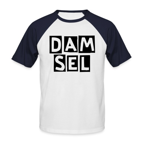 Mens Damsel Tee - Men's Baseball T-Shirt