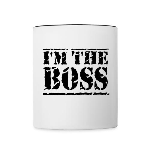 Boss Tasse  - Tasse zweifarbig