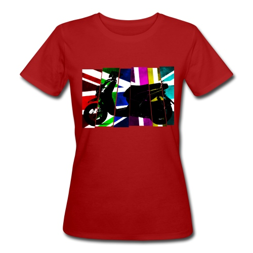 Ladies Scooter Tee - Women's Organic T-shirt