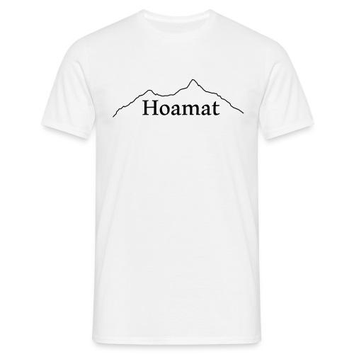 T-Shirt Hoamat Herren weiss - Männer T-Shirt