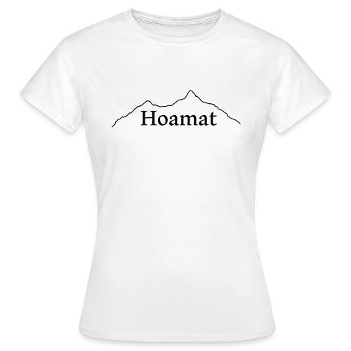T-Shirt Hoamat Damen weiss - Frauen T-Shirt