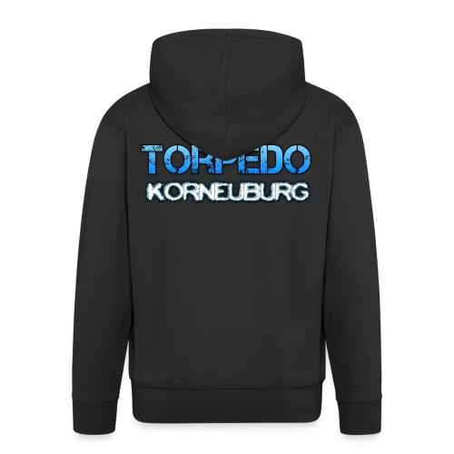 Torpedo Hoodie mit Zipp - Männer Premium Kapuzenjacke