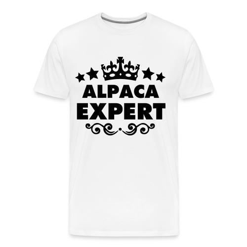 Alpaca Expert Unisex VerySexyAlpacas Tee - Men's Premium T-Shirt