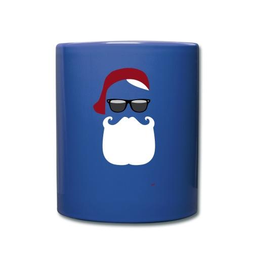 Hipster Claus - X-Mas Tasse - Tasse einfarbig