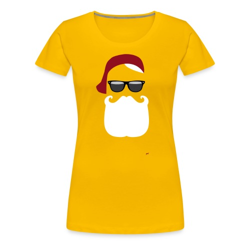 Hipster Claus - X-Mas Ladies Shirt - Frauen Premium T-Shirt