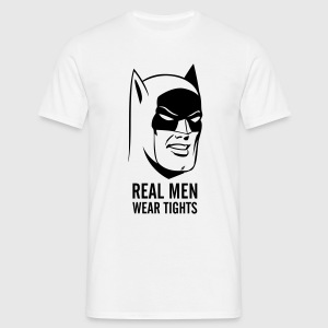 Batman Real Man mannen T-shirt - Mannen T-shirt