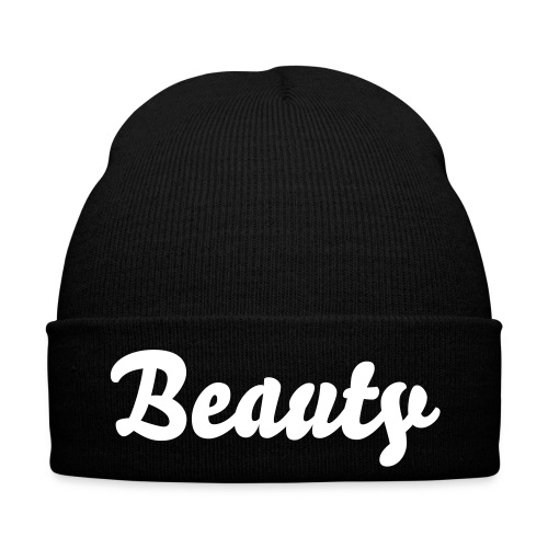 BEAUTY BEANIE BLACK - Wintermütze