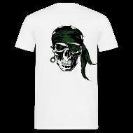 Tee shirts ~ Tee shirt Homme ~ Death skull skydive