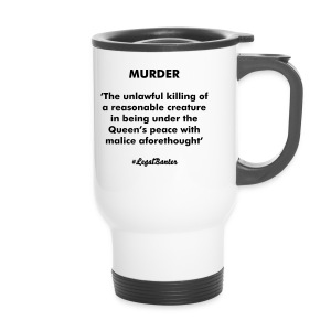 MURDER DEFINITION - Travel Mug