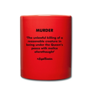MURDER DEFINITION - Full Colour Mug