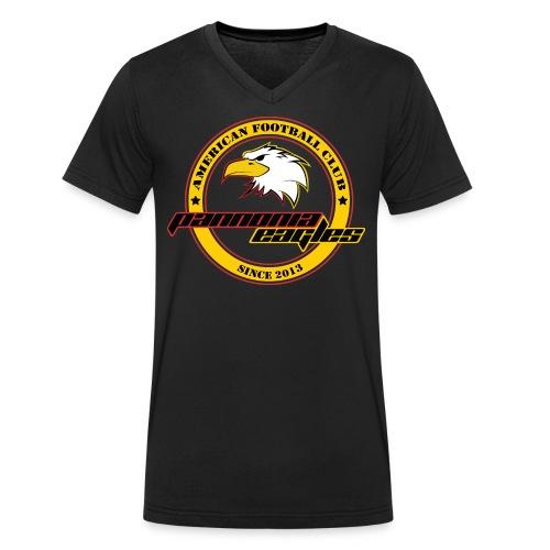 Herren T-Shirt mit V-Neck - Männer Bio-T-Shirt mit V-Ausschnitt von Stanley & Stella