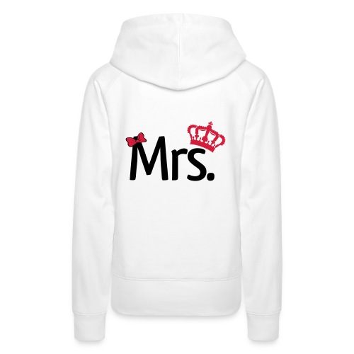 - Mrs.  - Frauen Premium Hoodie