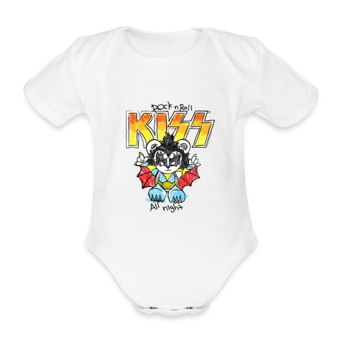 Little Demon (0-12Months) - Organic Short-sleeved Baby Bodysuit