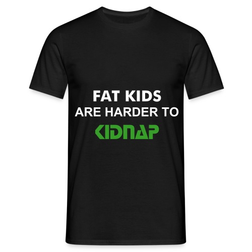 Fat kids (black) - Men's T-Shirt