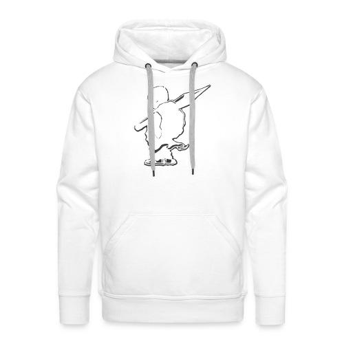 Sweat Saian supa crew - Sweat-shirt à capuche Premium pour hommes