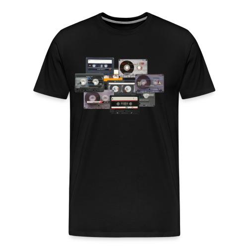 T-shirt Cassette audio K7 - T-shirt Premium Homme