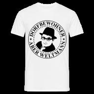 T-Shirts ~ Männer T-Shirt ~ FRIEDEL - Dorfbewohner, aber Weltmann