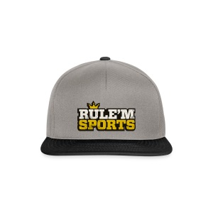 Snapback Cap - Limited Edition RULE'M SPORTS Snapback Cap. R Logo on right hand side.