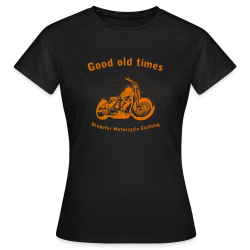 Biker Lady-Shirt | Good Old Times - Frauen T-Shirt