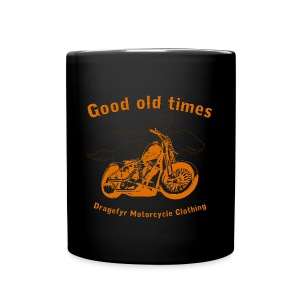 Biker Kaffee-Becher | Good Old Times - Tasse einfarbig