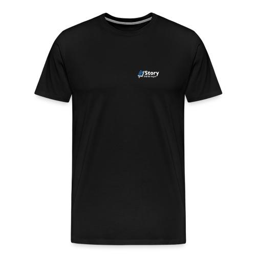 Storyloggan - Premium-T-shirt herr